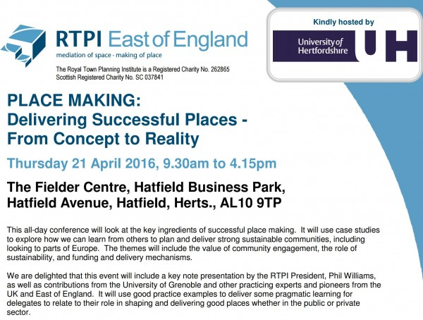 rtpi programme screenshot